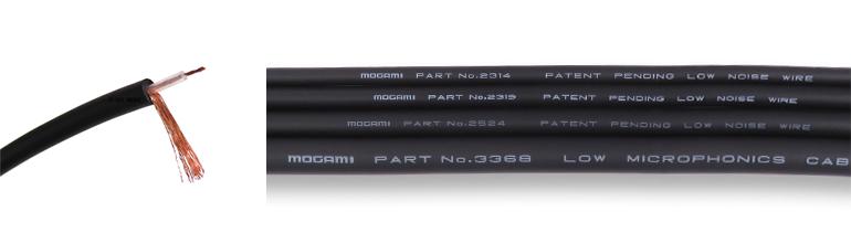 mogami 2314 and diameter comparison
