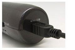 WiFiだけじゃなく有線顕微鏡としても使用可能です