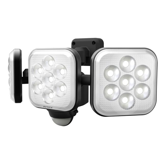 8W×3灯 フリーアーム式LEDセンサーライト(LED-AC3024)
