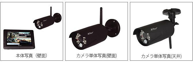 ハイビジョン無線カメラ&モニターセット | AT-8801