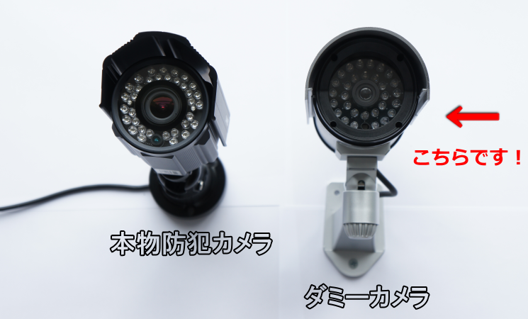 暗闇で光る赤外線防犯ダミーカメラDC-027IR