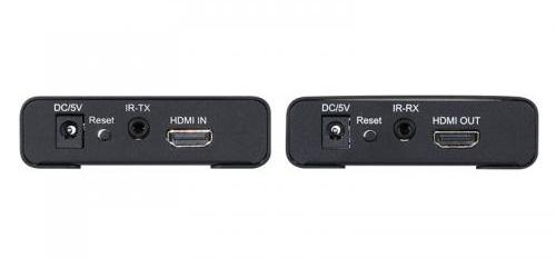 HDMIケーブル延長器(E-HDMI 12EX) 入出力端子部