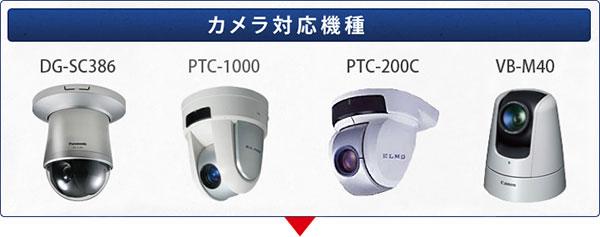 POE対応 ウェブカメラ ドームハウジング 対応機種一覧