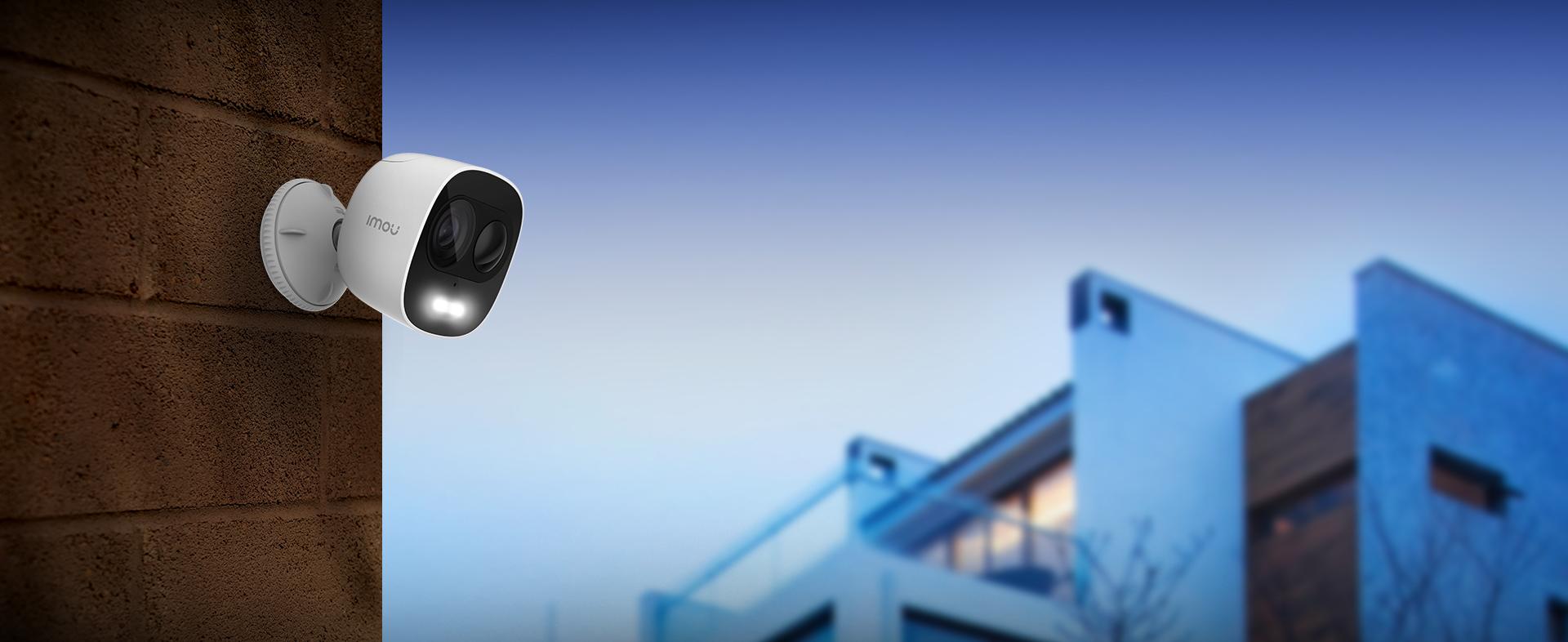 屋外カメラ 双方向通話アイモウ LOOC IPC-C26EN