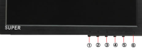 10.1型 IPS液晶モニターMNT-101HVBR各部名称と機能