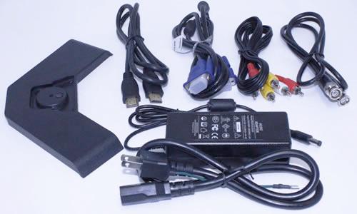 15型 TFTカラー液晶モニターMNT-150HVBR付属品