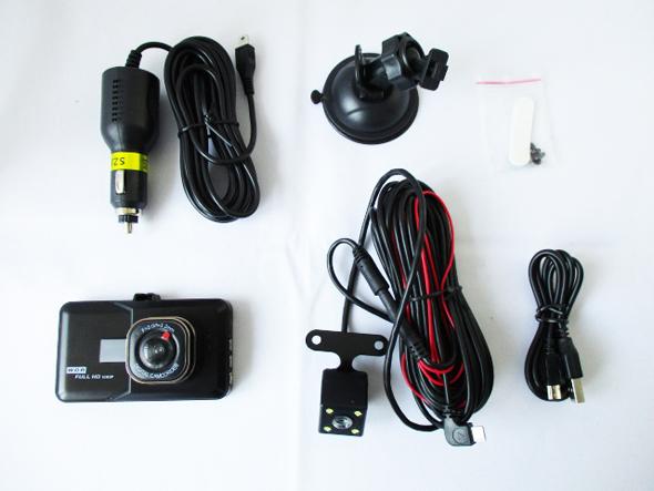 1080P 2カメドライブレコーダー N-200 付属品