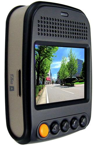 2K 液晶付ドライブレコーダー NX-DR301H