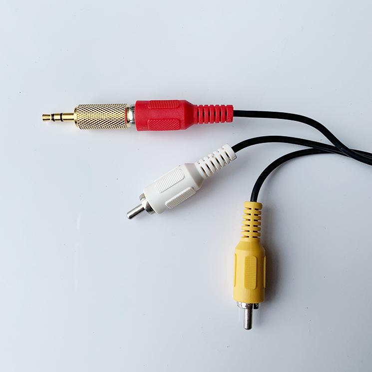φ3.5プラグ変換コネクター使用例