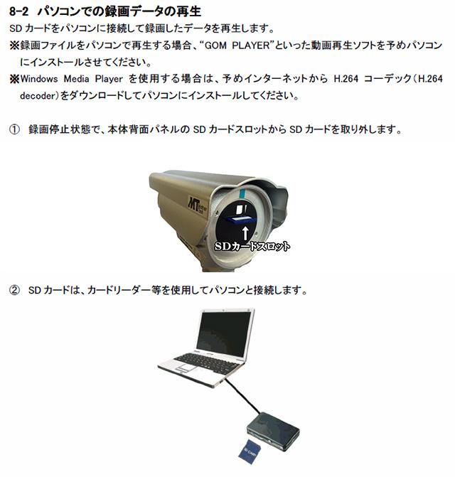 MTW-SD02FHDSDパソコン再生方法説明