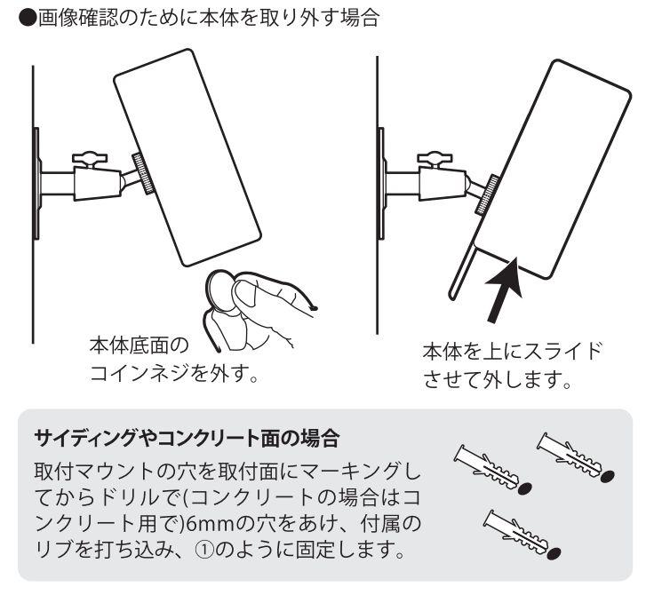 SD3000LCDの取り外し方法