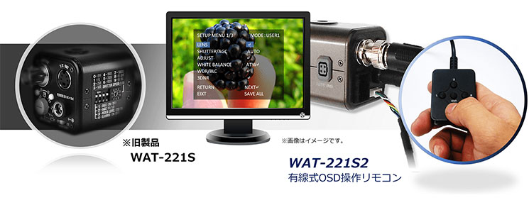 調査・研究用監視カメライメージ画像