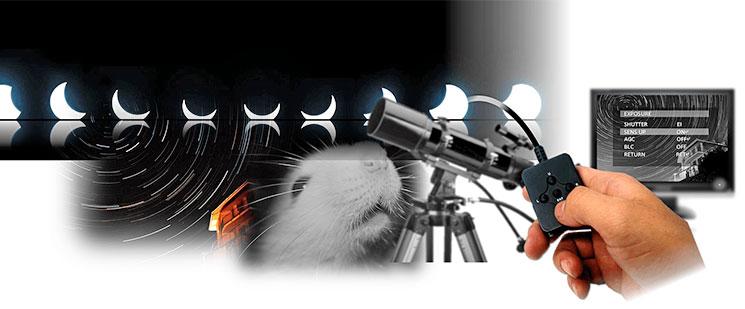 天体観測カメラ WAT-910HX-RC