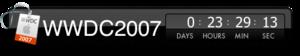[画像:WWDC2007 Widget]
