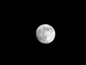 [写真:月]